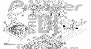 Dj Pro Audio  U0026 Service  Repairs  Pioneer Cdj2000 Exploded View  Parts Reference