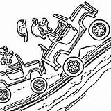 Climb Hill Racing Colorare Accident Disegni Jeep Coloriage Drawing Coloring Kleurplaten Incidente Disegno Coloriages sketch template