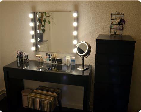 Bench Makeup Storage Acrylic Vanity Table Ikea With