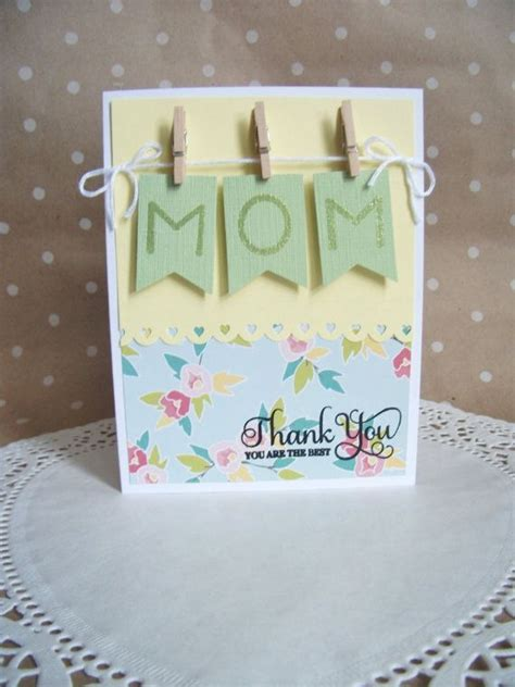 top  easy homemade mothers day card ideas  kid diy