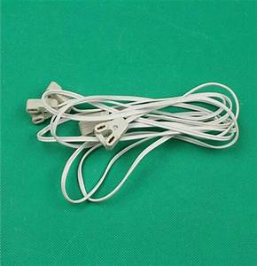 T8 Lightbox Wire    Led Fluorescent Tube Connector Cable