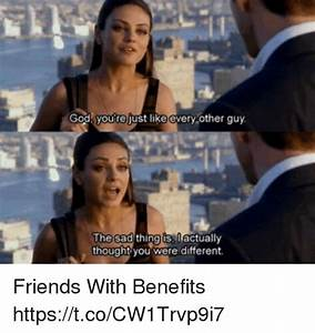 25+ Best Memes About Friends With Benefits | Friends With ...
