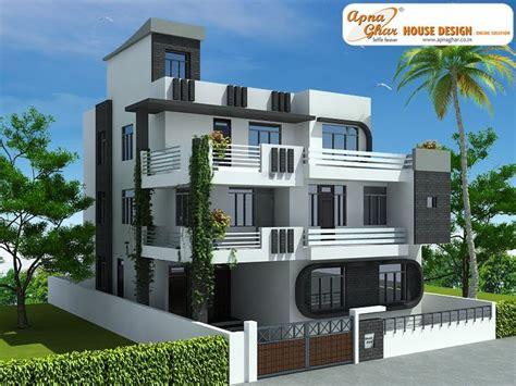 3 Floor Home Design : 7 Bedroom, Modern Triplex (3 Floor) House Design. Area