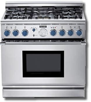 thermador pgbs   pro style  gas range   star burners   extralow simmer