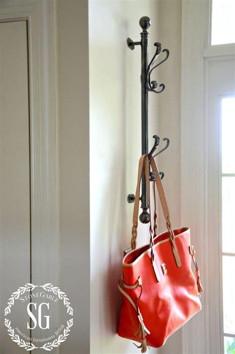 the door coat rack creating a welcoming foyer stonegable