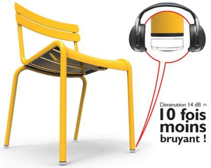 patin pour chaise set de 4 patins silencieux pour chaise et fauteuil