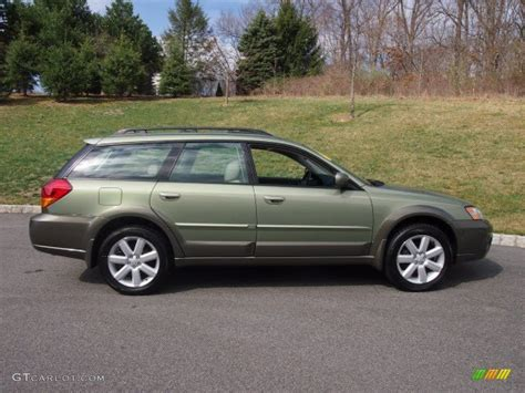 outback subaru green willow green opalescent 2006 subaru outback 2 5i limited