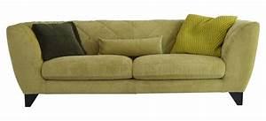 Canapé Haut De Gamme Tissu : canap en tissu vert d houssable nouveaut ~ Premium-room.com Idées de Décoration