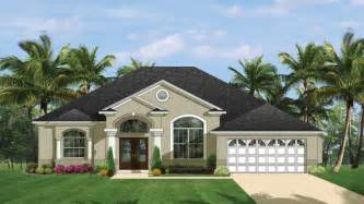 home design florida mediterranean modern home plans florida style designs from homeplans