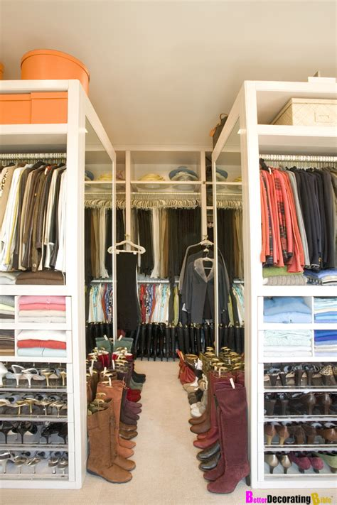 decorating walk in closets how to get started