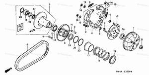 Honda Scooter 2007 Oem Parts Diagram For Clutch