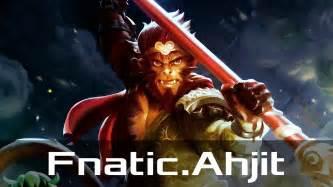 fnatic ahjit monkey king safe jul 20 2017 dota 2 patch 7 06 gameplay youtube