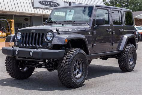 2014 jeep rubicon unlimited granite for sale