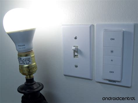 light bulbs for dimmer switches philips hue dimmer switch review an easy way to connect