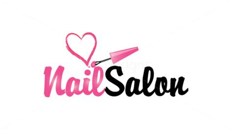 Nail Logo en 2019   Salon de uñas, Salones de uñas y ...