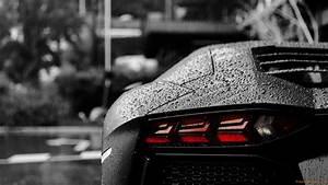 Aventador In The Rain Full HD Duvarkağıdı and Arka plan ...