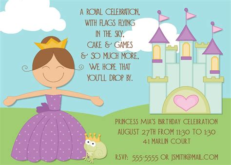 a birthday invitation bear river photo greetings new prince and princess
