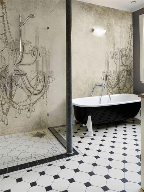 wallpaper designs for bathroom wall deco