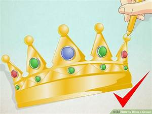 2 Easy Ways To Draw A Crown  With Pictures