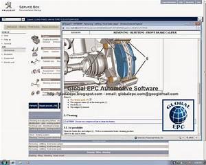 Global Epc Automotive Software  Peugeot Service Box 11