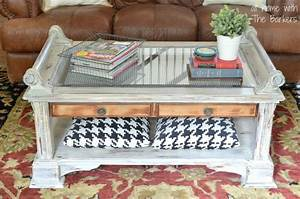 coffee table makeover at home with the barkers With how to paint a coffee table with chalk paint
