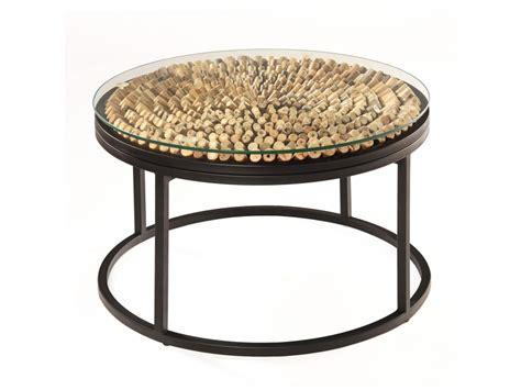 glasplatte rund 70 cm sofatisch couchtisch aus bambus holz bambus lounge