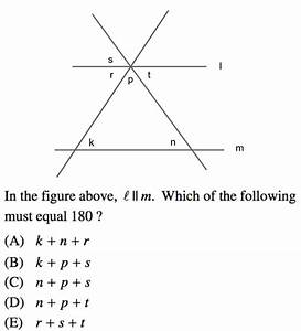 Lines And Angles In Sat Math  Prep And Review