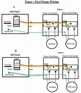 In-ground Pool Pump    Timer Wiring