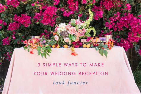 how to make numbers for wedding reception 3 easy ways to make your wedding reception look fancier