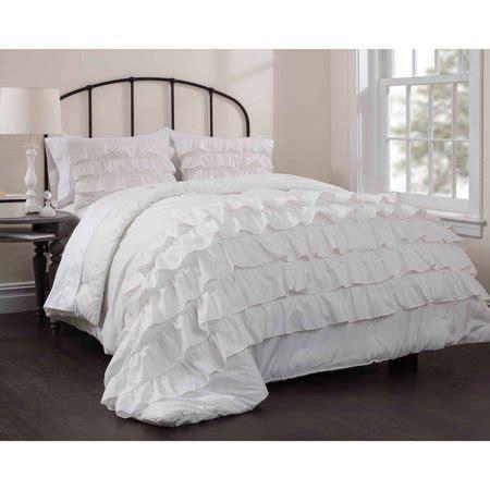 Comforters Bedding Walmart by Latitude Ruby Ruffle Bedding Comforter Set Walmart