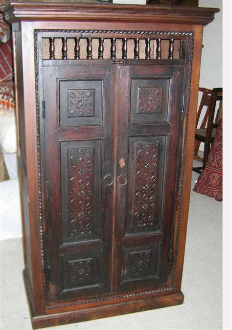 Unique Cabinet Door by Unique Cabinet Made With Antique Carved Doors Ebay