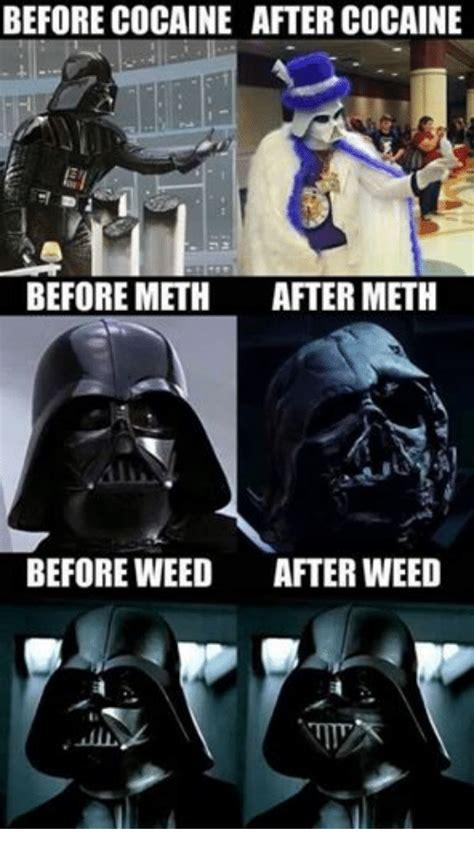 Et Is A Jedi Meme - before cocaine after cocaine et before meth after meth before weed after weed star wars meme