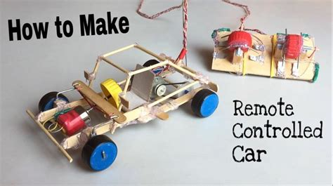 How Make Car With Remote Controlled Out