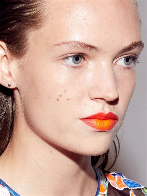 prettiest makeup   trends  spring  glamour