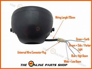 4 Wire Headlight Wiring To Stock St Harness Questions