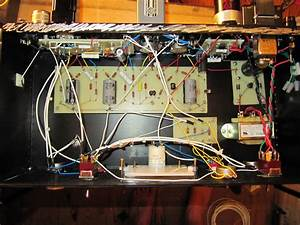 Wombat Amplification  La-2a Wiring Finished