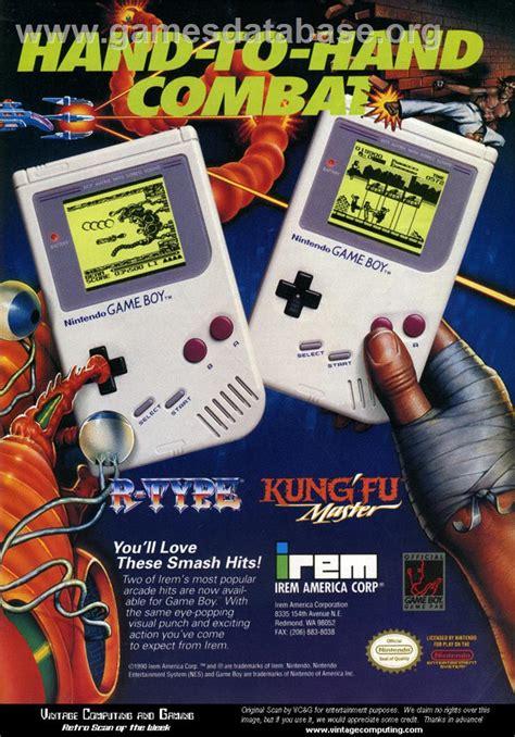 R Type Nintendo Game Boy Games Database