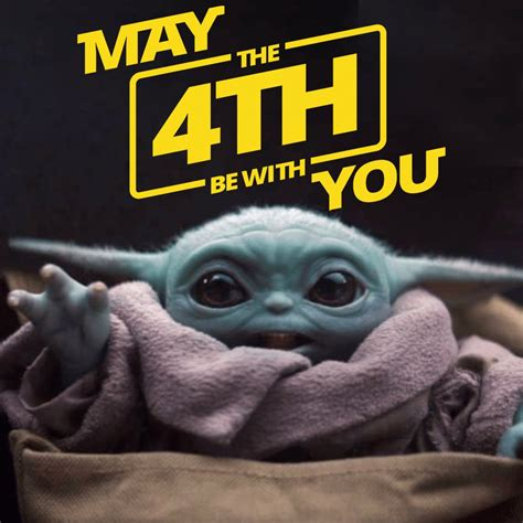 ABC7 - MAY THE 4TH BE WITH YOU: Baby Yoda is wishing you ...