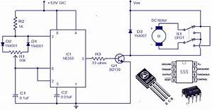 Electrical Page  Dc Motor Control Circuit Diagram