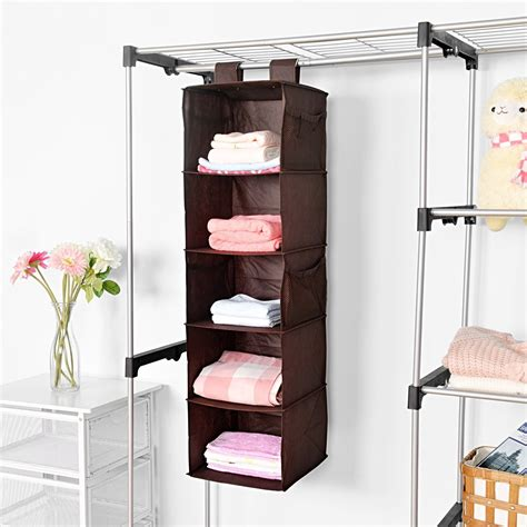 Wardrobe Organiser by 25 Collection Of Hanging Wardrobe Shelves Wardrobe Ideas