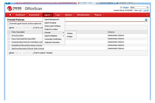 trend micro officescan agent 11 download