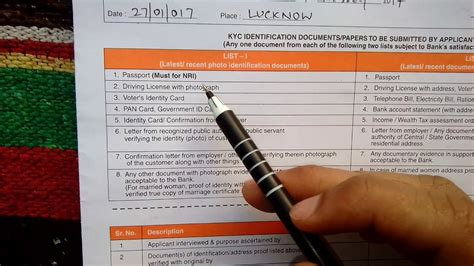 how to fill bank of baroda account opening form how to fill bank of baroda saving bank account opening