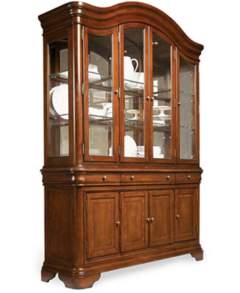 Macys Corner China Cabinet by Bordeaux China Cabinet Furniture Macy S