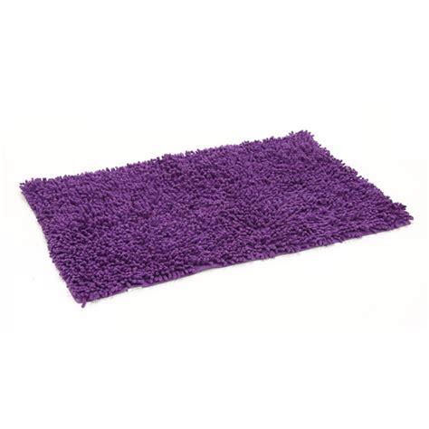 tapis de salle de bain 50x80cm violet