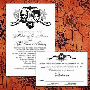 custom frankenstein halloween wedding invitations 2048407 With buy halloween wedding invitations