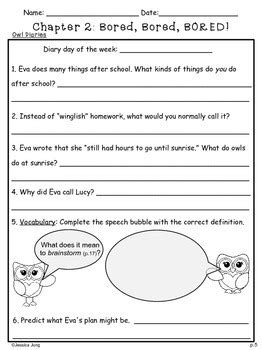 Owl Diaries: Eva's Treetop Festival -- Book Study Guide by