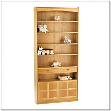 Wide Bookcase With Doors by 24 Inch Wide Bookcase With Doors Bookcase Home Design