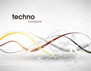 Abstract Grey Tech Background - Vector download