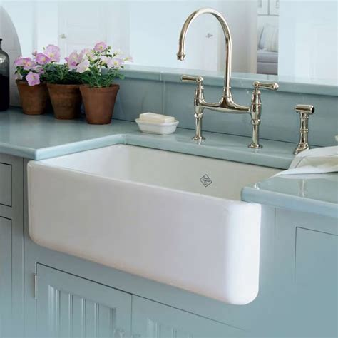 Shaw Farm Sink Rc3018 shaws farmhouse sink rohl midcentury kitchen sinks