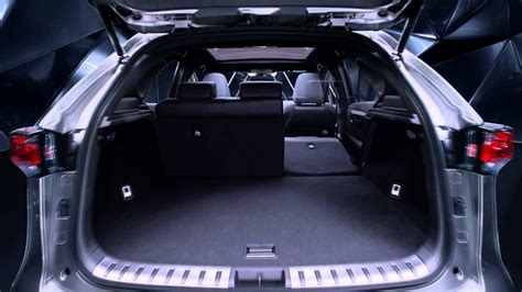 striking angles   lexus nx  boot space youtube